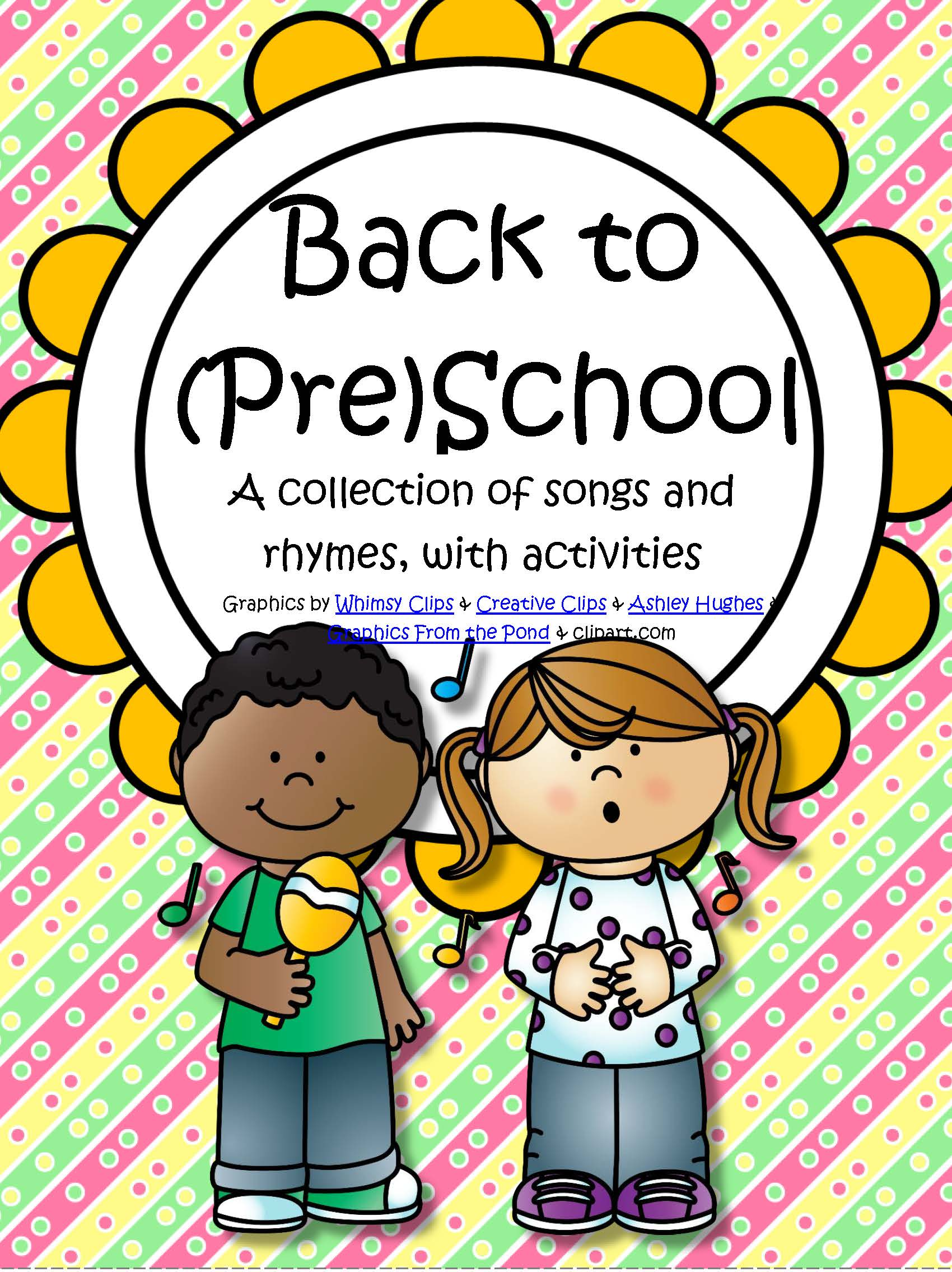Back To School Songs And Rhymes With Activities