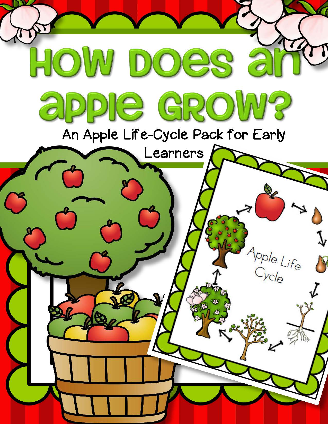 Apples Life Cycle Activities Pack