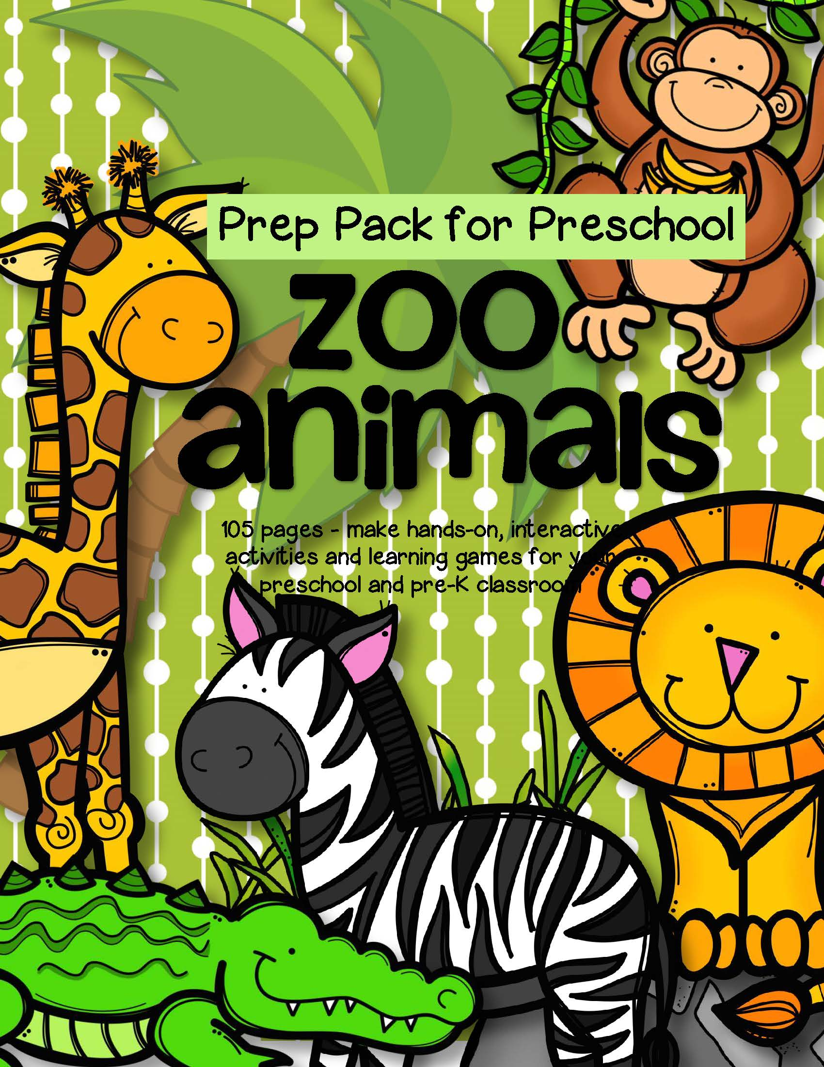 Zoo Animals Theme Pack For Preschool