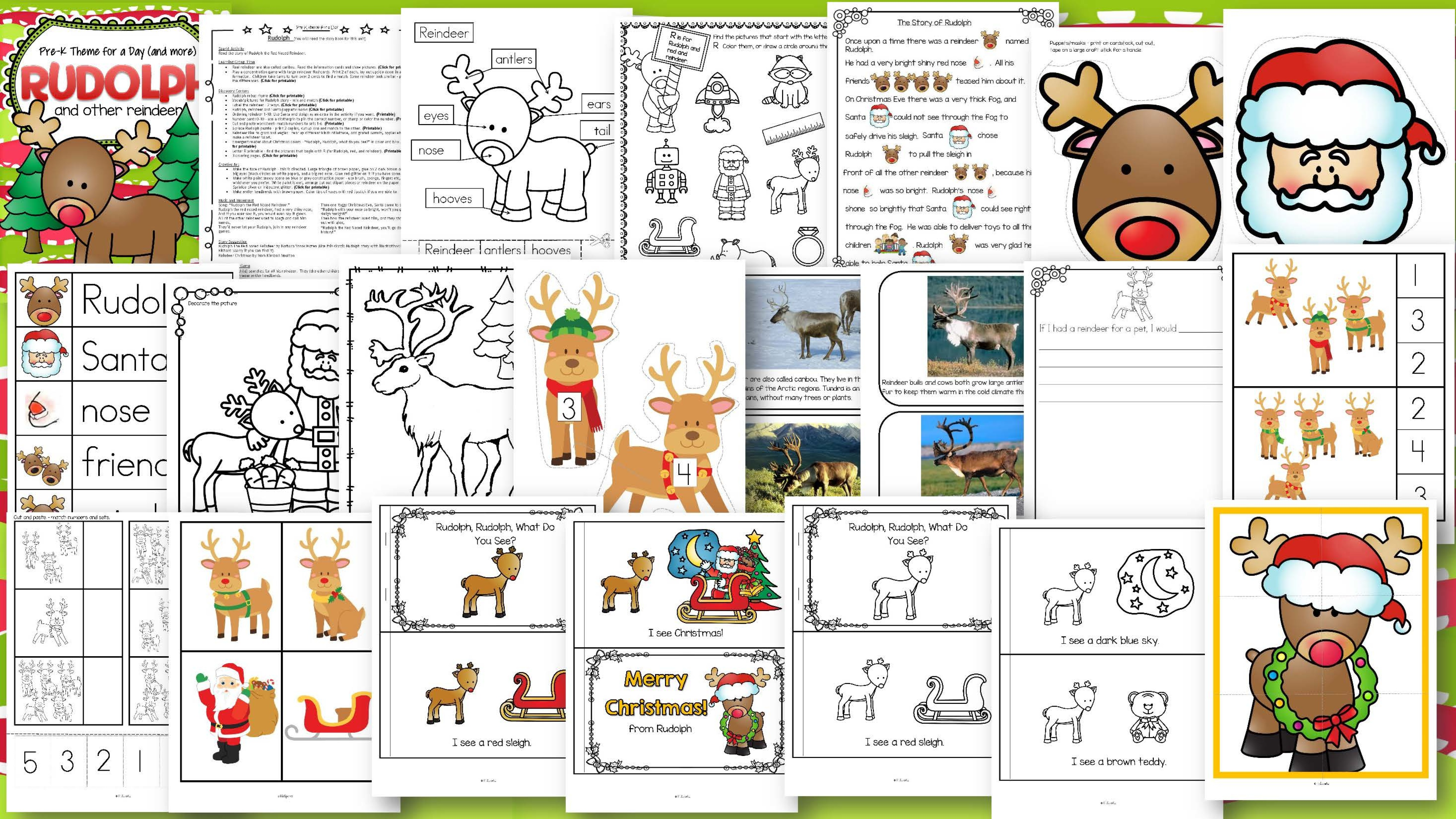 December Curriculum Themes Bundle For Preschool And Pre K