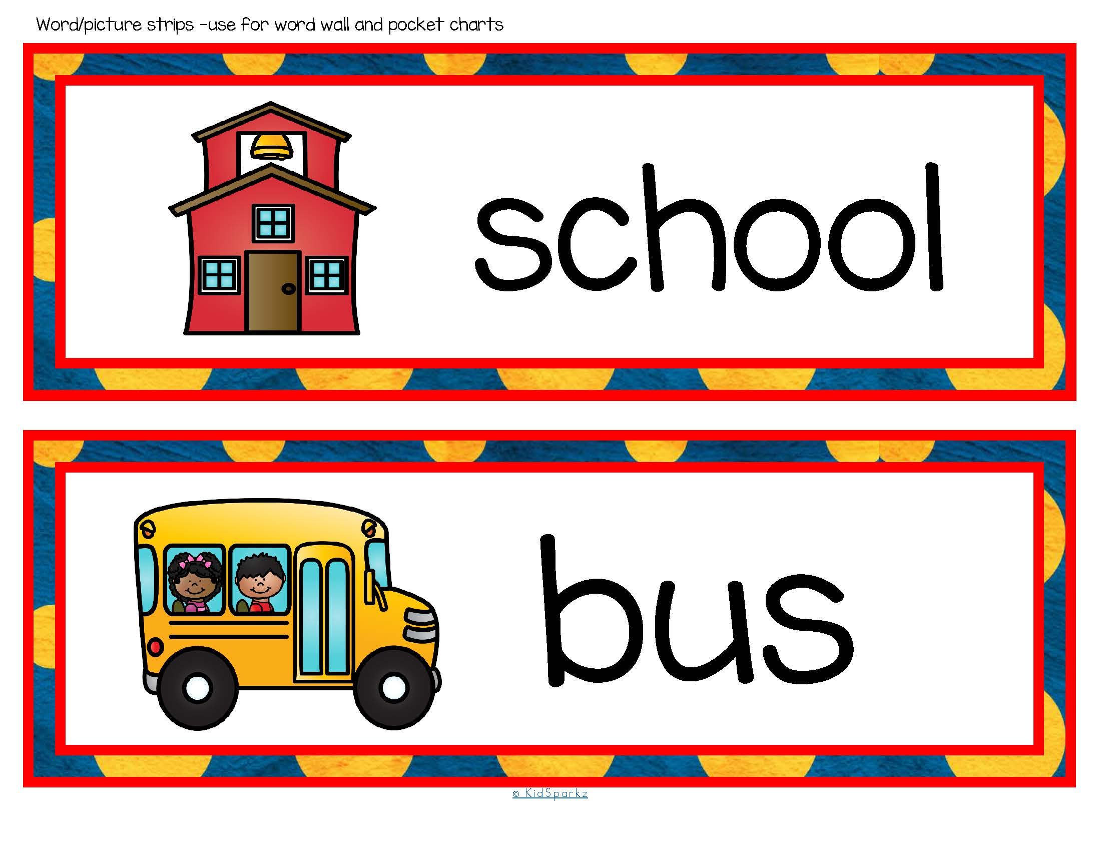 Back To School Vocabulary Center Amp Group Activities For