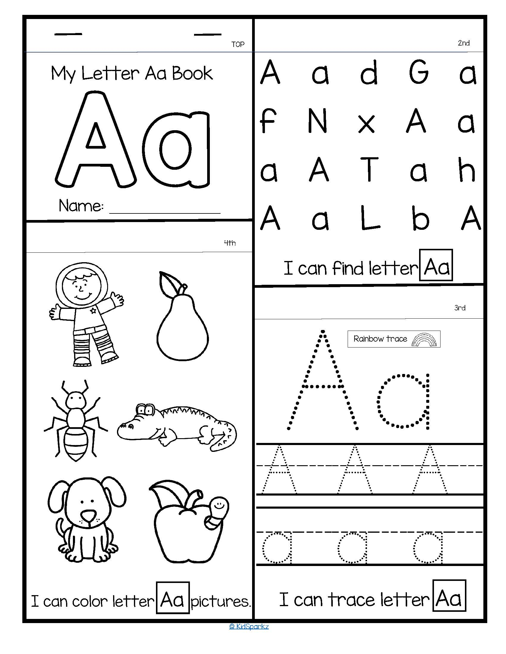 26 Alphabet Flip Flap Books