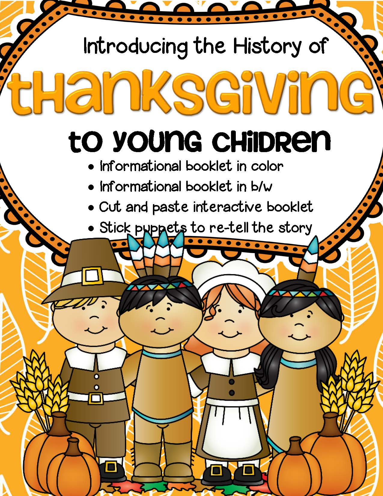 Thanksgiving Introducing The History And Vocabulary To