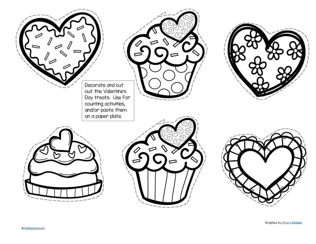 Valentine Coloring Activity Worksheet