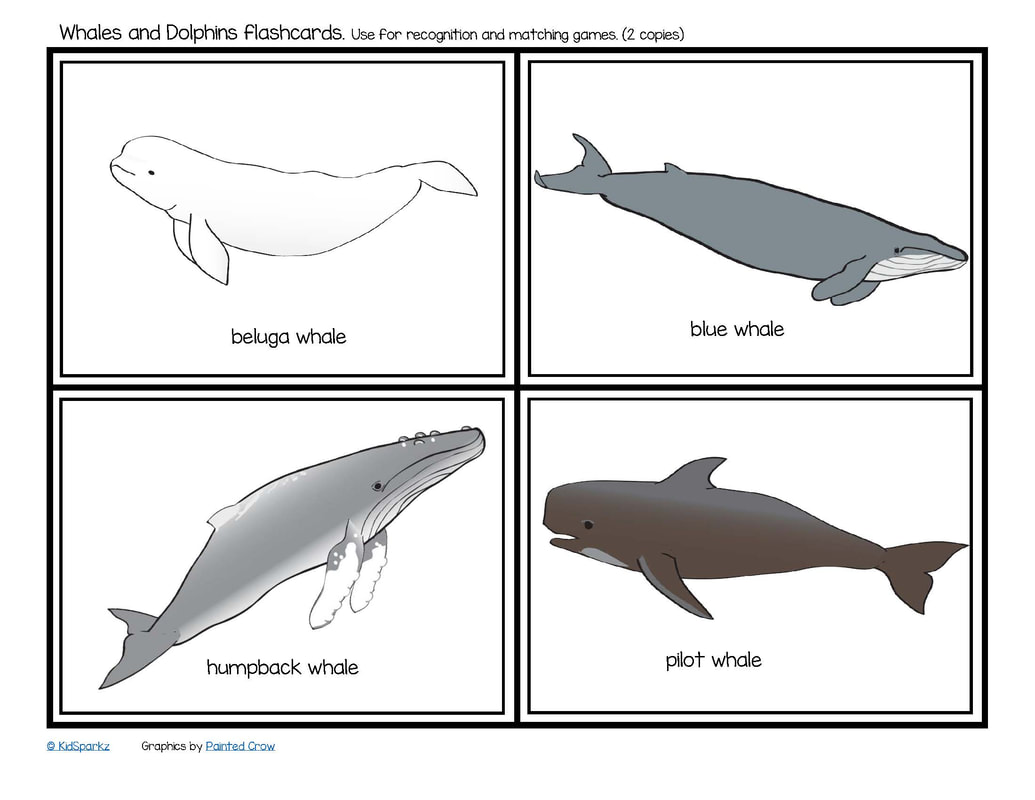 Whale Activities For Kindergarten