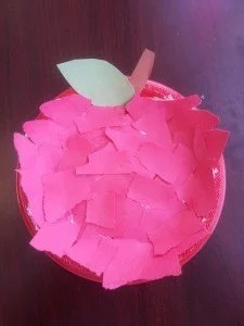Easy Apple Craft for Kids Teacher Apple Craft Back to School