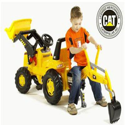 Kettler Caterpillar Backhoe Loader - Your Kids Fully Functional Backhoe Loader Toy