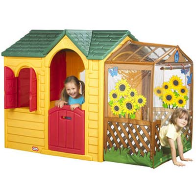 Little Tikes Garden Cottage - The Incredible Outdoor Garden Play House For Kids