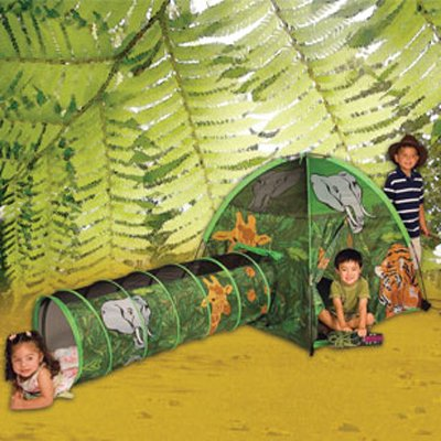 African-Adventure-Tent-and-Tunnel-Combo