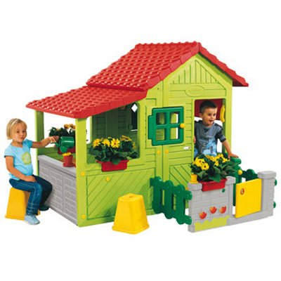 Greenhouse and Garden - Your Kids Colorful Greenhouse Playhouse