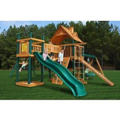 Gorilla Playsets Blue Ridge Pioneer Peak Swing Set