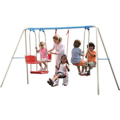 Titan 5 Ride Swing Set - Helps Kids Develop Physical Activity