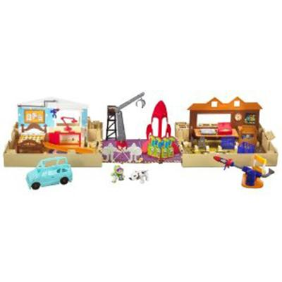 Toy Story Pop-Open Playworld - A Must Have 3-In-1 Disney Playsets For Kids