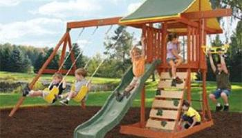 Meadowvale Wooden Swing Set