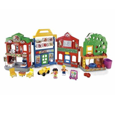 Fisher-Price World of Little People Learn About Town