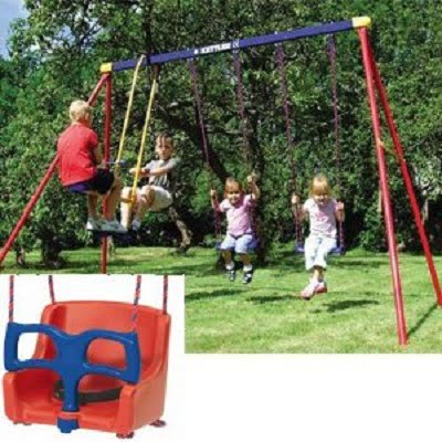 Kettler 8382-790B Multi Play Swing Set - Your Kids Safe and Dependable Swingset