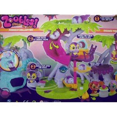 Zoobles Razoo's Treehouse Playset