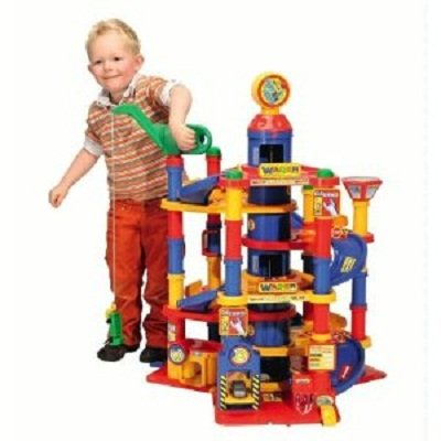 Wader-Park-Tower-Playset-With-Cars