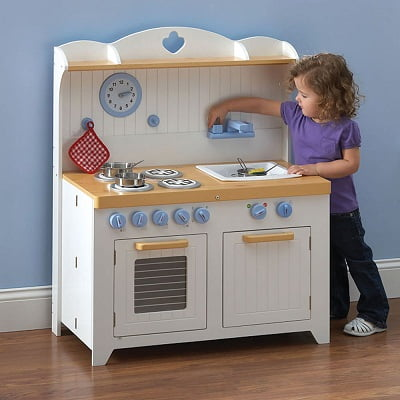 The Young Chefs Foldaway Kitchen Playset