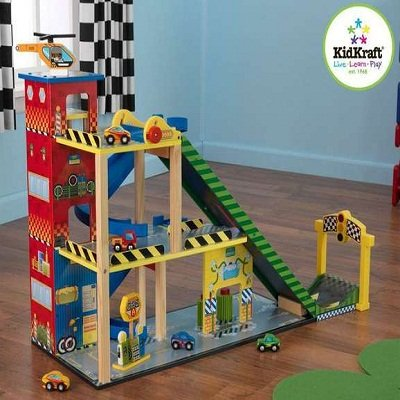 Mega Ramp Racing Set by Kidkraft