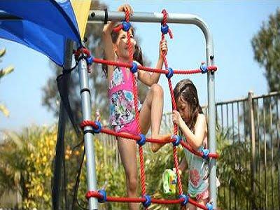 Ironkids Complete Fitness Playground Swing Set 2