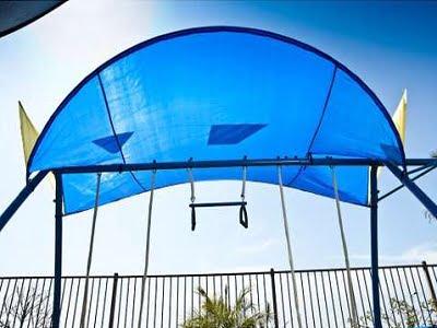 Ironkids Complete Fitness Playground Swing Set 3