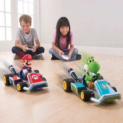 The RC Mario Kart Racers