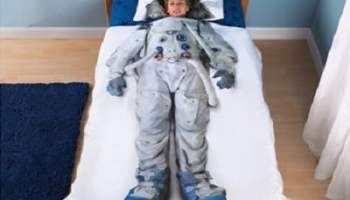 The Future Astronaut's Bedding