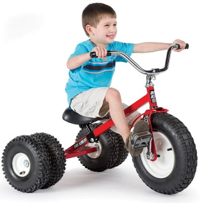 The All Terrain Dually Tricycle