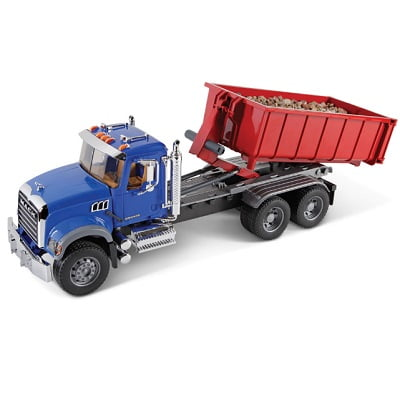 The Mack Roll Off Container Truck 1