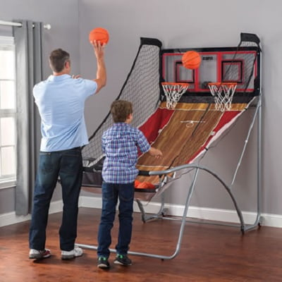 The Stowaway Free-Throw Duel - with easy to fold feature for that convenient storage every time