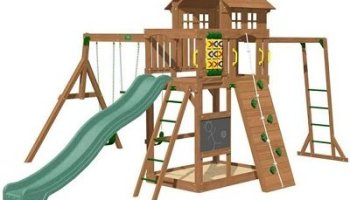 Cypress Swing Set