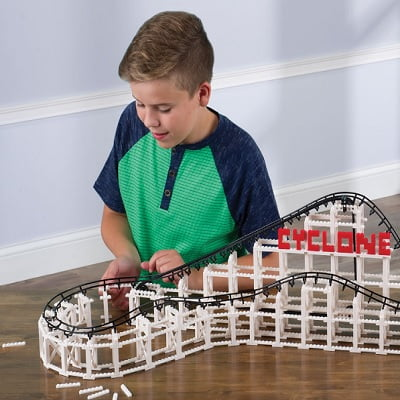 The Build A Brick Roller Coaster