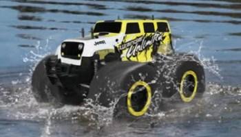 The RC Stunt Monster Truck