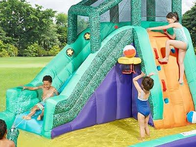 The Slide, Slap, And Splash Water Playground 1