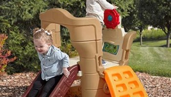 Step2 Pirates Cove Climber and Slide Kids Playset