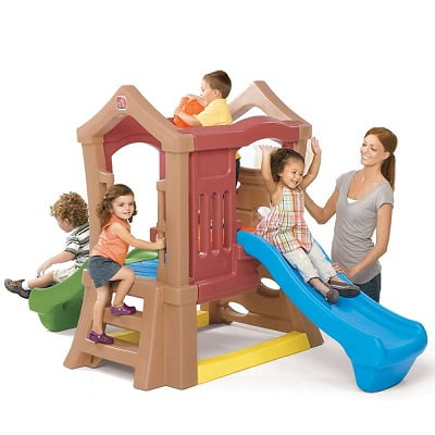 Play Up Double Slide Kids Climber