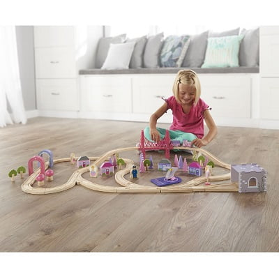 The 75 Piece Fairy Town Train Set 1