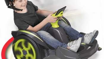 The 360 Degree Spinning Electric Buggy