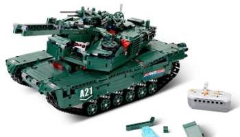 The Build Your Own RC Tank