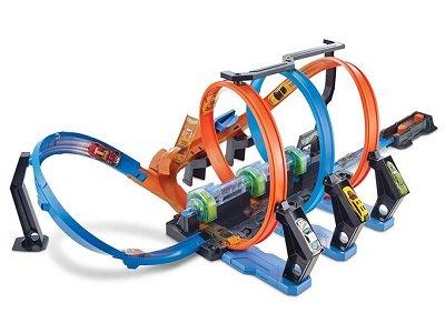 Hot Wheels Corkscrew Crash Track Set 1