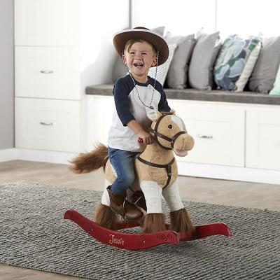 The Personalized Animated Rocking Horse