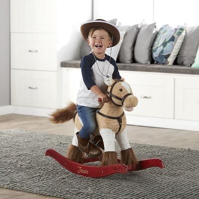 The Personalized Animated Rocking Horse