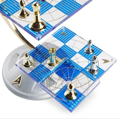 The Star Trek Tridimensional Chess Set 1