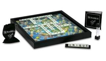 The Pop Art 3D Glass Scrabble