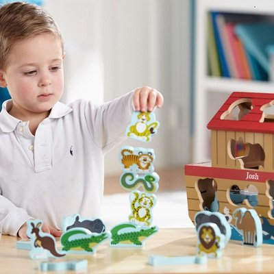 The Personalized Noah's Ark Play Set 1