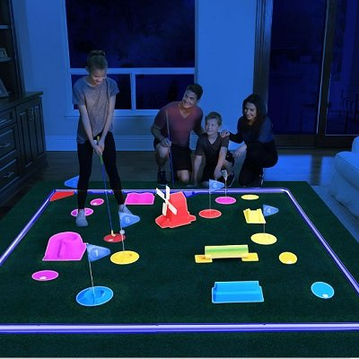 Glow In The Dark Mini Golf Course