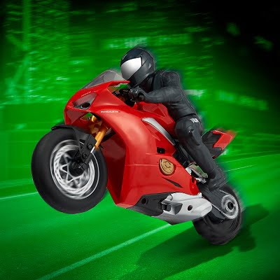 Pop A Wheelie RC Ducati