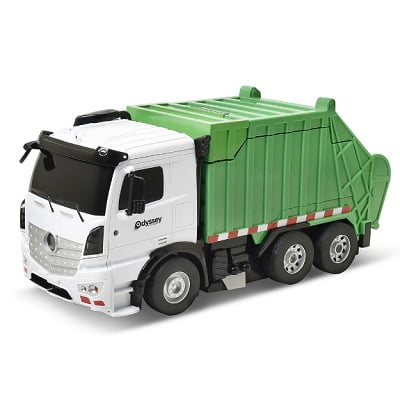 Voice-Activated-Transforming-Garbage-Truck