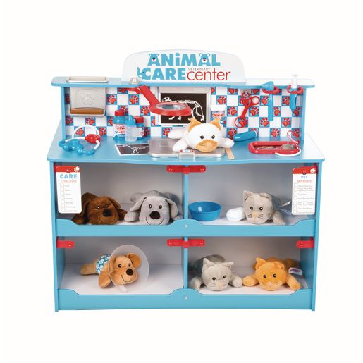 Pet Play Center and Accessories Set 1